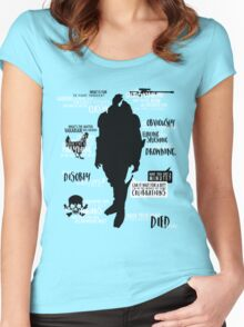 Mass Effect - Garrus Quotes Women's Fitted Scoop T-Shirt
