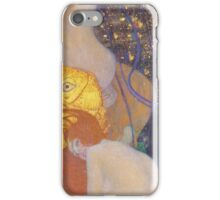 Gustav Klimt - Goldfish 1901 iPhone Case/Skin