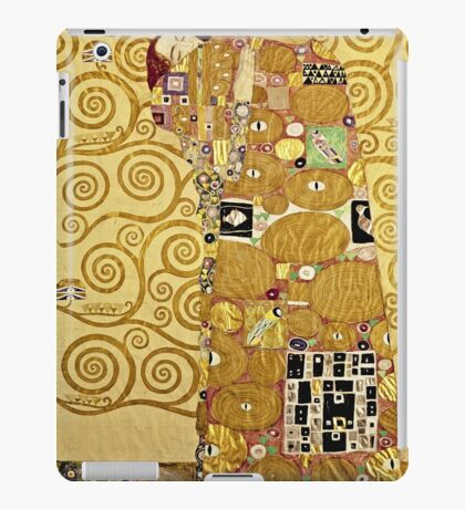 Gustav Klimt - Fulfilment  iPad Case/Skin