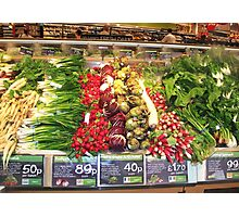 Fruit & Vegetables Photographic Print