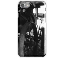 Old machinery iPhone Case/Skin