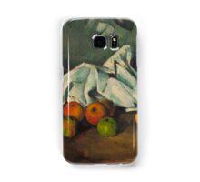 1880 - Paul Cezanne - Milk Can and Apples Samsung Galaxy Case/Skin