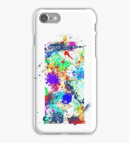 TARDIS - Wibbly-wobbly, timey-wimey stuff iPhone Case/Skin