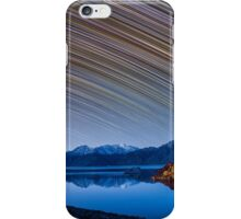 Calm Mountain Lake startrails iPhone Case/Skin