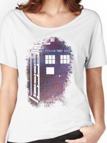 TARDIS Fade Away Women's Relaxed Fit T-Shirt