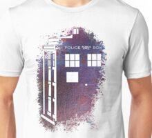 TARDIS Fade Away Unisex T-Shirt