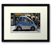 car for disabled Framed Print