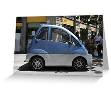 car for disabled Greeting Card