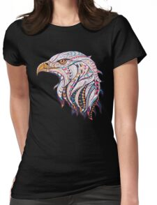 Ethnic Eagle Womens Fitted T-Shirt
