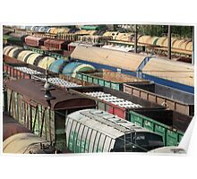 Freight Trains Poster