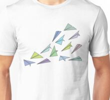 origami airplane Unisex T-Shirt