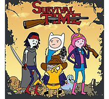 Survival Time Photographic Print