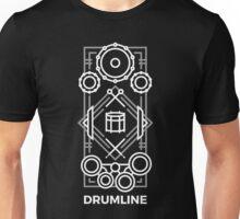 Drumline - White & Gray Unisex T-Shirt
