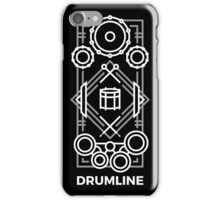 Drumline - White & Gray iPhone Case/Skin