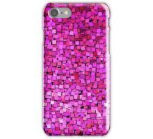 Graphic, Paint Chips, Pink (Texture, Background) iPhone Case/Skin