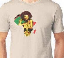 Lady Afro Unisex T-Shirt