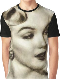 Marilyn Monroe Vintage Hollywood Actress Graphic T-Shirt