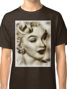 Marilyn Monroe Vintage Hollywood Actress Classic T-Shirt