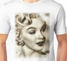 Marilyn Monroe Vintage Hollywood Actress Unisex T-Shirt