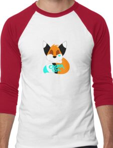 Casper Fox Logo Men's Baseball ¾ T-Shirt