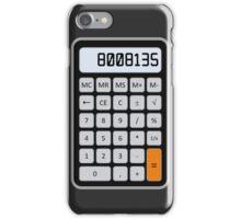 Calculator Memories iPhone Case/Skin