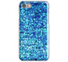 Graphic, Paint Chips, Blue (Texture, Background) iPhone Case/Skin