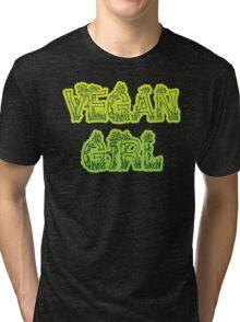 Vegan Girl Tri-blend T-Shirt