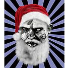zombie claus by yvonne willemsen