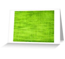 Graphic, Pixel Scape, Green (Texture, Background) Greeting Card