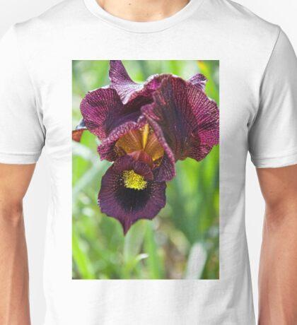 Purple Iris Unisex T-Shirt
