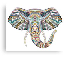 Ethnic Elephant Canvas Print