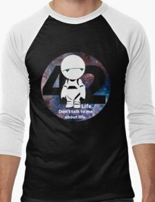 Don't Talk to Me About Life Men's Baseball ¾ T-Shirt