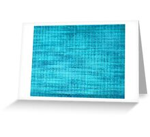 Graphic, Pixel Scape, Blue (Texture, Background) Greeting Card