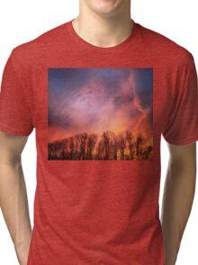 Burning Sky Tri-blend T-Shirt