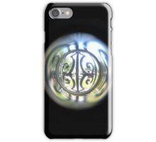 Through the Peephole iPhone Case/Skin