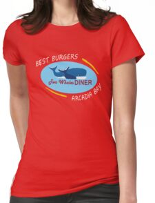 Two Whales Diner Shirt - Life is Strange Womens Fitted T-Shirt