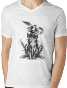 Mr Posh paws Mens V-Neck T-Shirt