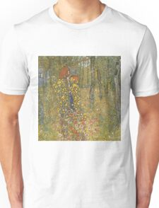 Gustav Klimt - Farm Garden With Crucifix 1912 Unisex T-Shirt