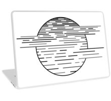 Black Moon Laptop Skin