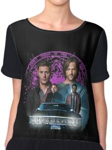 Supernatural The Roads Journey Chiffon Top