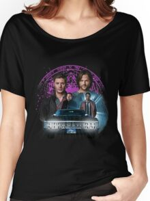 Supernatural The Roads Journey Women's Relaxed Fit T-Shirt