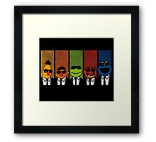Reservoir Muppets V2 Framed Print