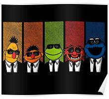 Reservoir Muppets V2 Poster