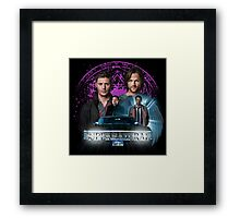 Supernatural The Roads Journey Framed Print