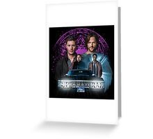 Supernatural The Roads Journey Greeting Card