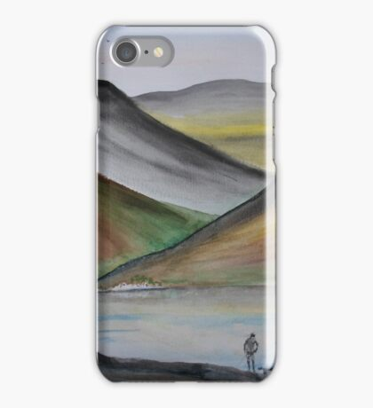 Abstract Lakeland iPhone Case/Skin