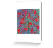 20160912 red trompets no. 3 Greeting Card