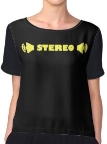 STEREO Chiffon Top