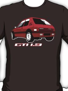 Peugeot 205 GTI 1.9 red T-Shirt