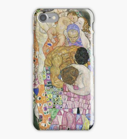 Gustav Klimt - Death And Life 1916 iPhone Case/Skin